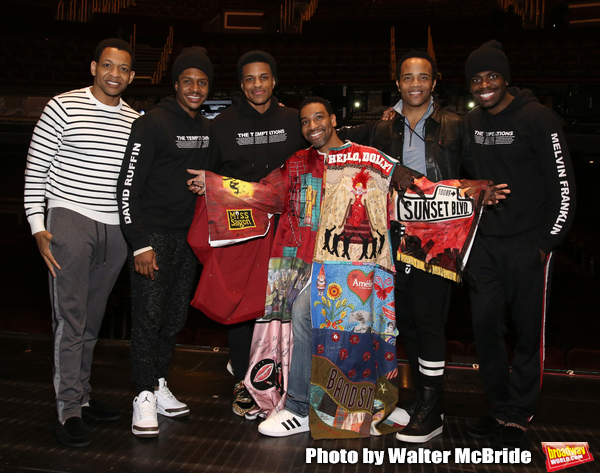 Derrick Baskin, Ephraim Sykes, Jeremy Pope, E. Clayton Cornelious, James Harkness and Photo