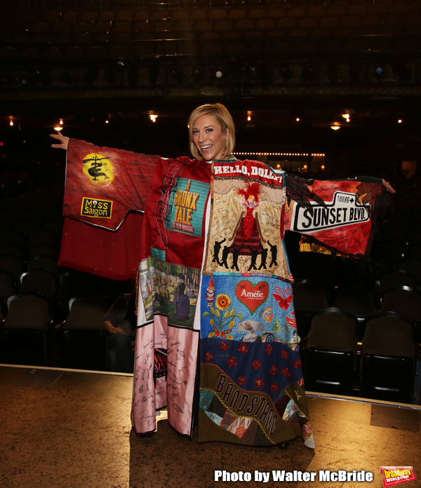 Erica Mansfield during the Broadway Opening Night Legacy Robe Ceremony honoring Erica Photo