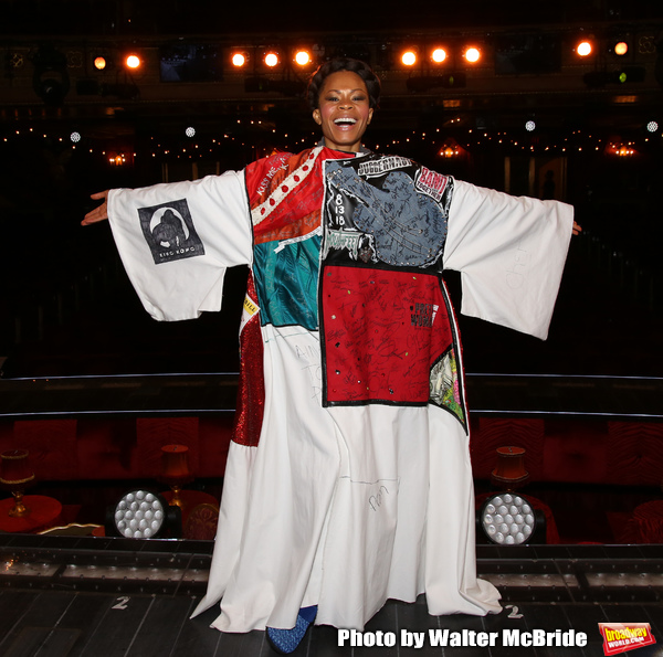 Bahiyah Hibah during the Broadway Opening Night Legacy Robe Ceremony honoring Bahiyah Photo