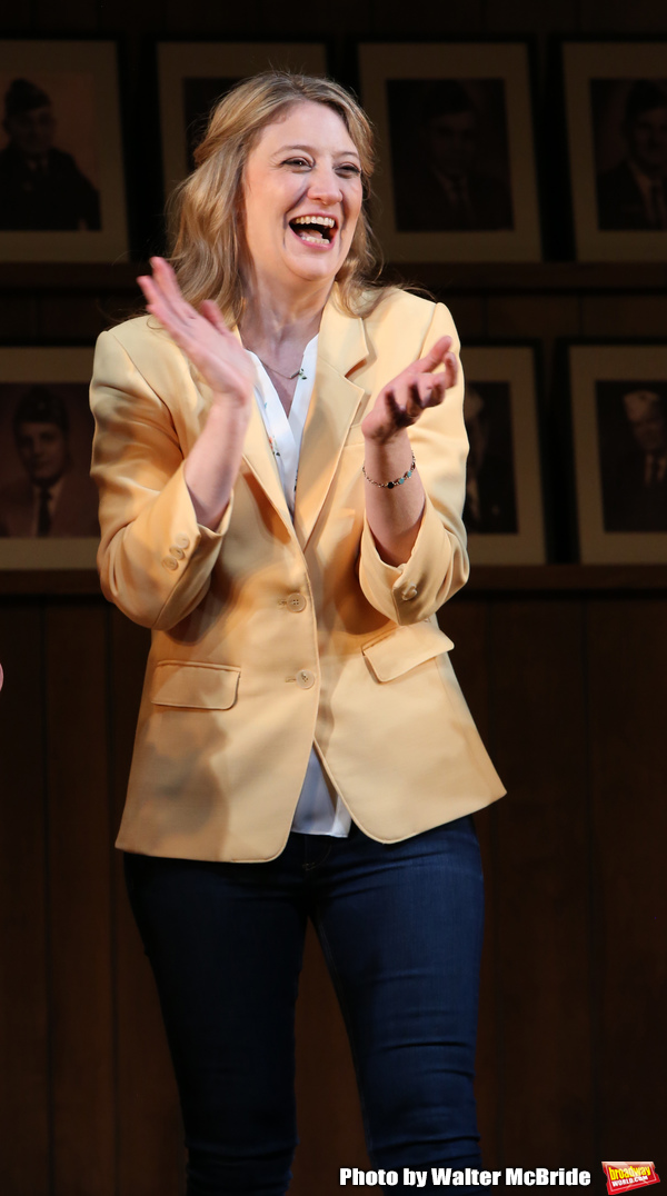 """Heidi Schreck during the Broadway Opening Night Performance Curtain Call of  """"What Th Photo"""
