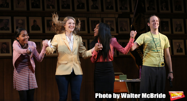 Rosdely Ciprian, Heidi Schreck, Thursday Williams and Mike Iveson during the Broadway Photo