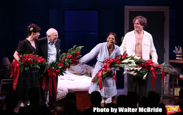 Arin Arbus, Terrence McNally, Audra McDonald and Michael Shannon during the Opening N Photo