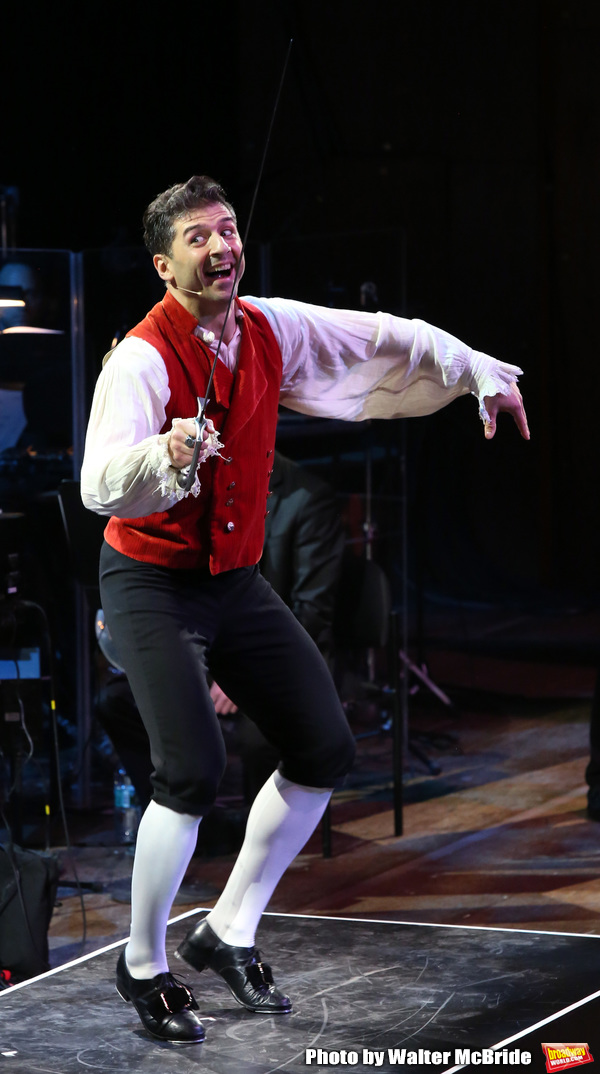 """Tony Yazbeck performing during the MCP Production of """"The Scarlet Pimpernel"""" Concert  Photo"""