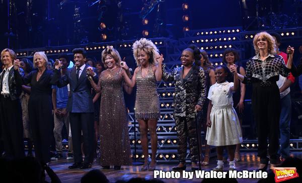 Charlie Franklin, Phyllida Lloyd, Daniel J. Watts, Tina Turner, Adrienne Warren and K Photo
