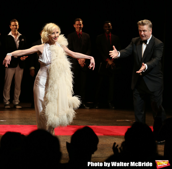 Anne Heche and Alec Baldwin during the Roundabout Theatre Company One-Night Only Bene Photo
