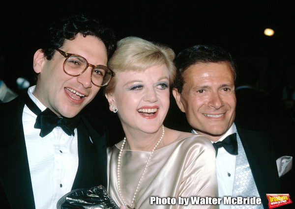 Harvey Fierstein , Angela Lansbury , Jerry Herman attend the Tony Awards, New York, N Photo