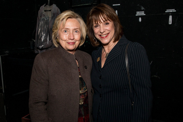 Hillary Clinton and Producer Jana Robbins  Photo
