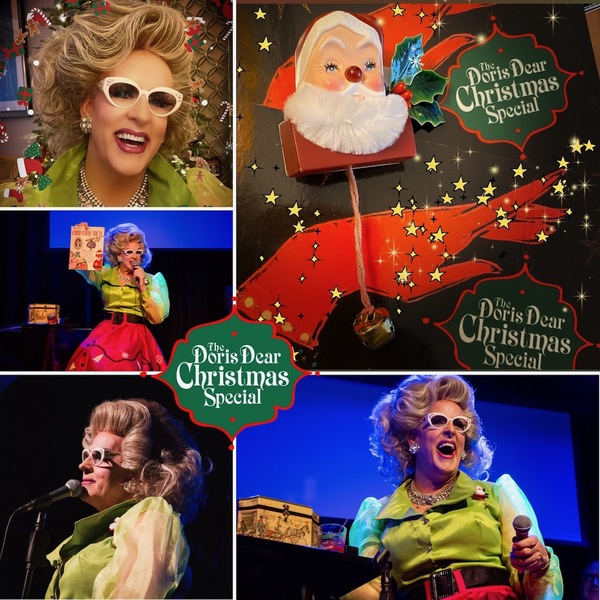 Photo Flash: THE DORIS DEAR CHRISTMAS SPECIAL at The Triad Theater