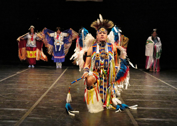 Photo Flash: THUNDERBIRD AMERICAN INDIAN DANCERS' DANCE CONCERT AND POW-WOW At TNC