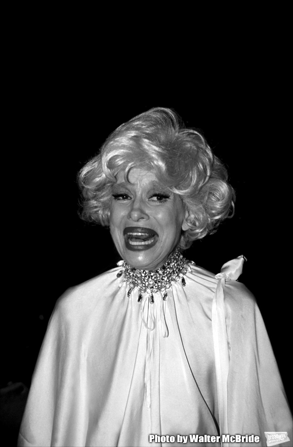 Carol Channing photographed in New York City, April 1990