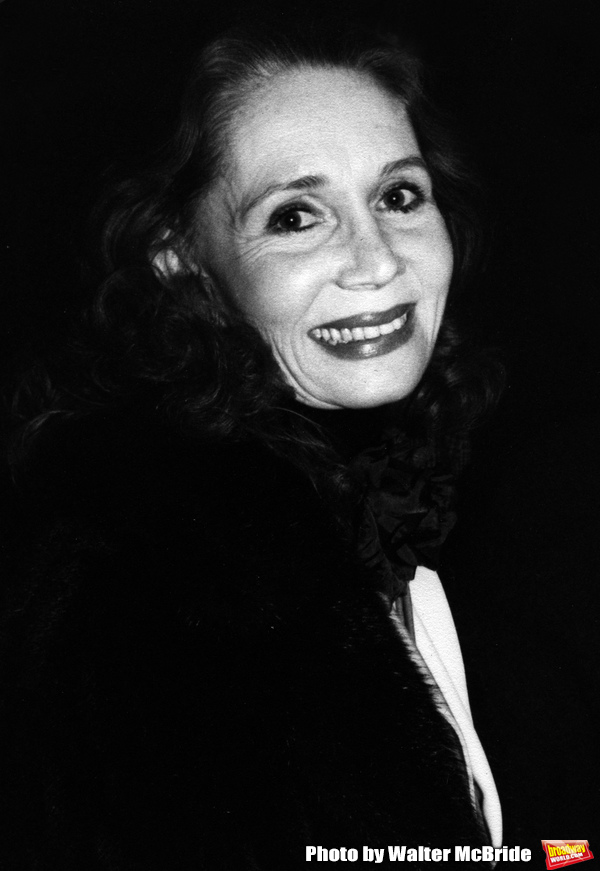 Katherine Helmond attends a Broadway Show on October 14, 1979 in New York City. Photo