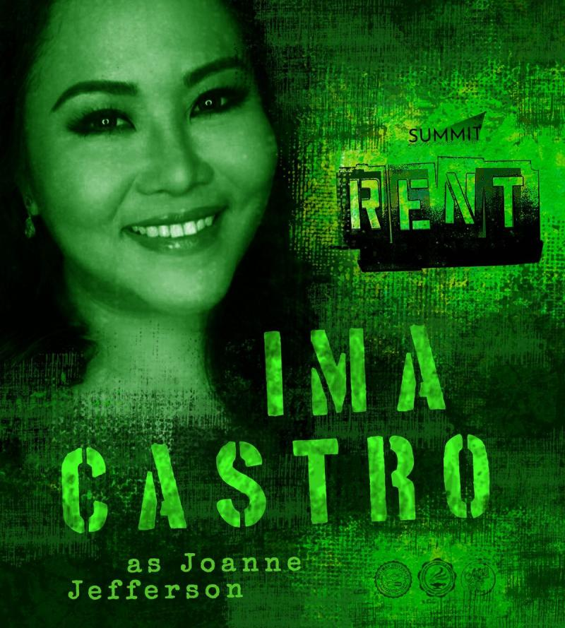 Ima Castro Joins the Cast of RENT in Dumaguete City; Show Opens 21 Feb. 2020