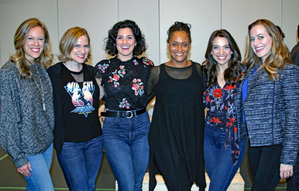 Kara Haller, Amy Justman, Alyssa Giannetti, Rema Webb, Alex Finkle, Mamie Parris Photo
