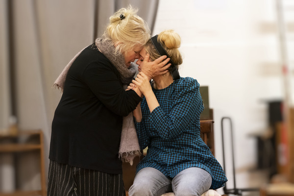 Photo Flash: Inside Rehearsal For UNCLE VANYA at the Harold Pinter Theatre