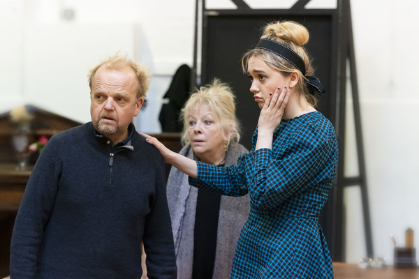 Toby Jones, Aimee Lou Wood, Anna Calder Marshall Photo