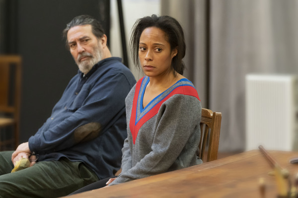 Ciaran Hinds, Rosalind Eleazar Photo