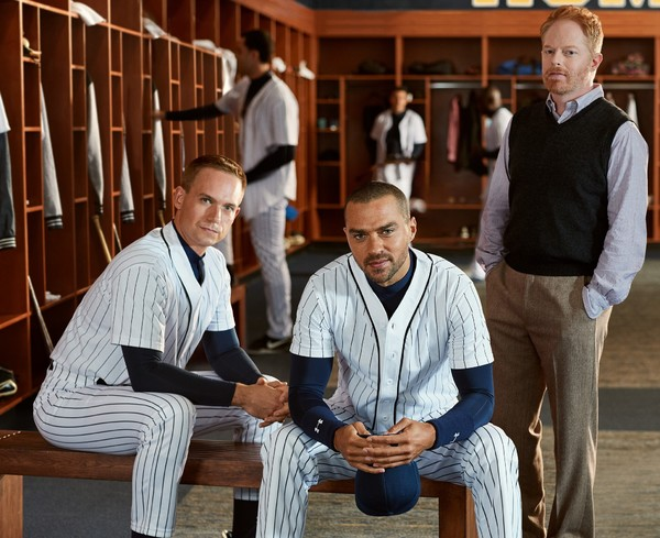 Patrick J. Adams, Jesse Williams and Jesse Tyler Ferguson Photo