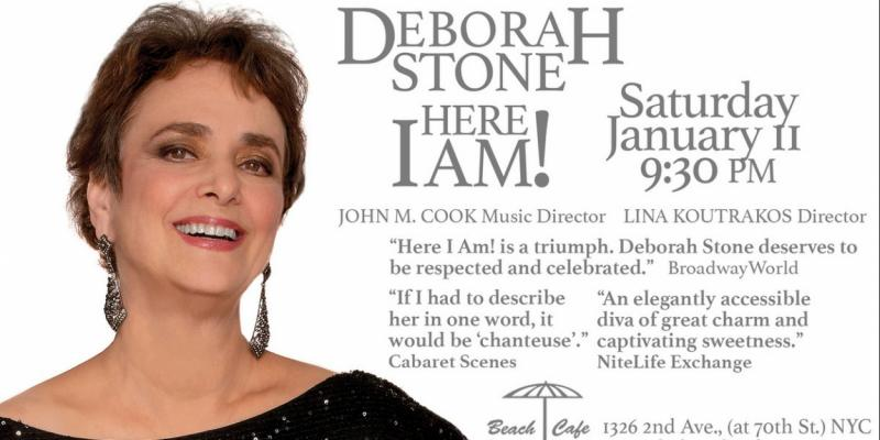 BWW Interview: Deborah Stone of HERE I AM! at The Beach Cafe