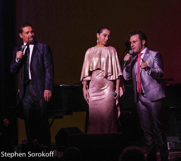 Clint Holmes, Veronica Swift, Nicholas King Photo