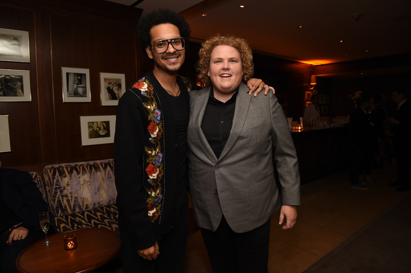 Yassir Lester and Fortune Feimster  Photo