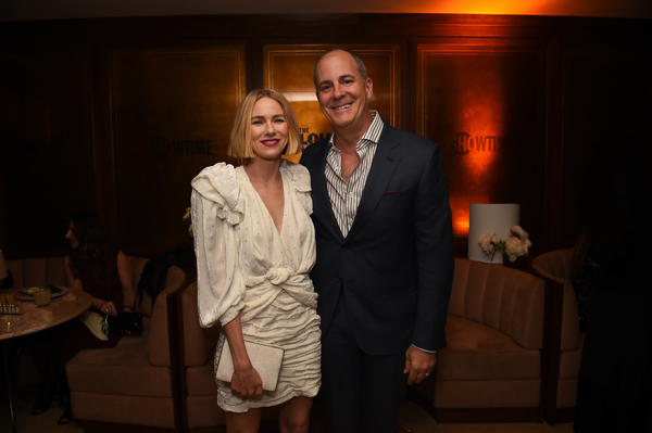 Naomi Watts and Chief Creative Officer, CBS & Chairman And Chief Executive Officer, S Photo