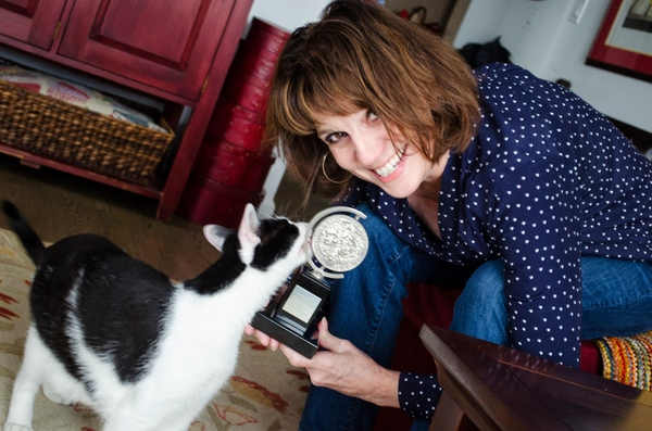 Tails of Broadway: Beth Leavel Plays Around with Malcolm!