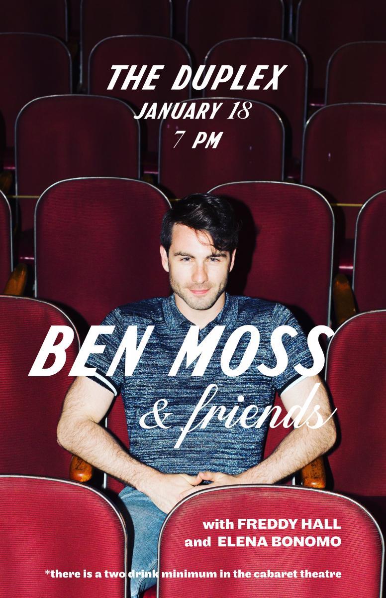 BWW Interview: Ben Moss of BEN MOSS & FRIENDS at The Duplex