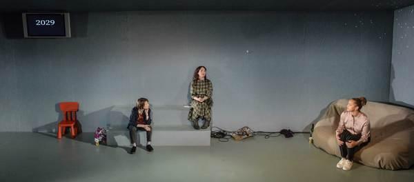 Bryony Hannah, Caroline Faber, Angela Griffin Photo