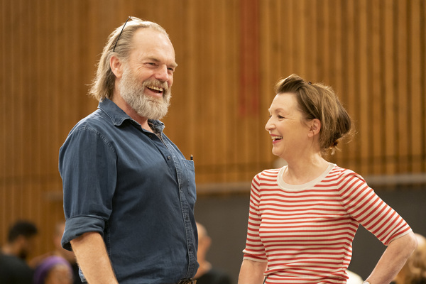 Photos: Inside Rehearsal For THE VISIT at the National Theatre