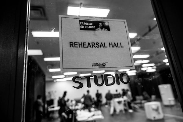 Photo Flash: First Look at Rehearsal Photos of Jully Black and Measha Bruggergosman in CAROLINE, OR CHANGE