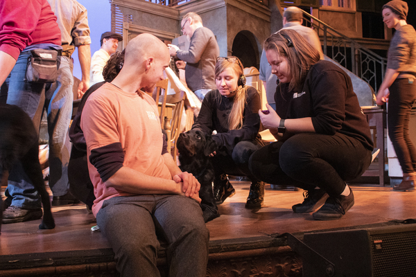 Photo Flash: Grand Rapids Civic Theatre Hosts Paws With A Cause for STREETCAR Preview