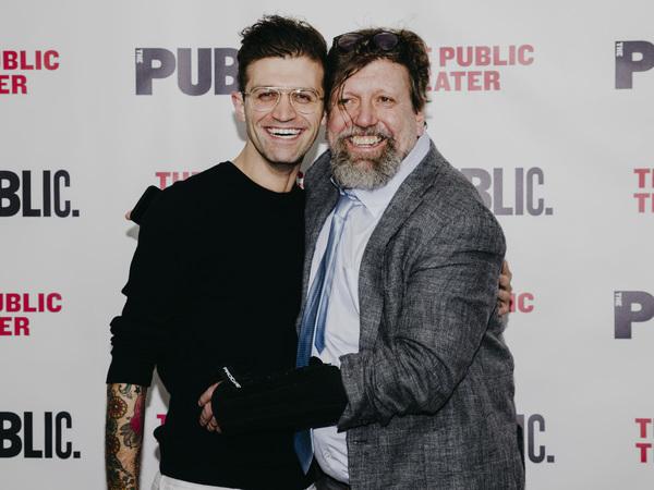 Sam Pinkleton and Oskar Eustis Photo