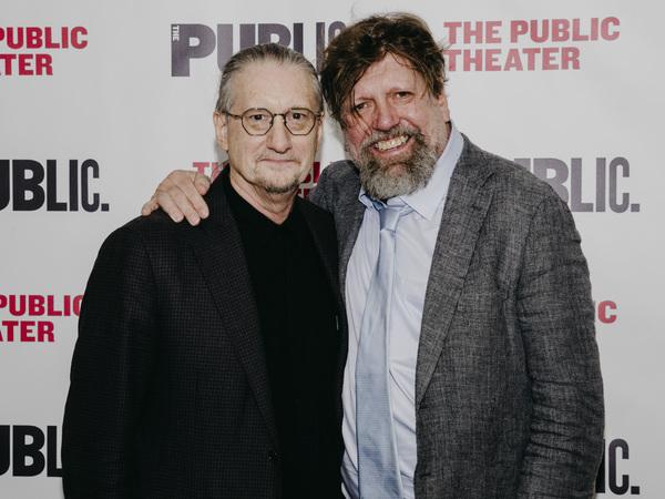 Mark Russell and Oskar Eustis Photo