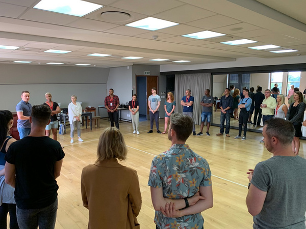 Photo Flash: Inside Rehearsal For Mel Brooks' THE PRODUCERS at Artscape