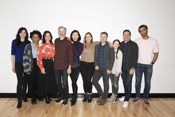 Photo Flash: Get a First Look at Rehearsal Photos for ANATOMY OF A SUICIDE Starring Carla Gugino, Celeste Arias and More