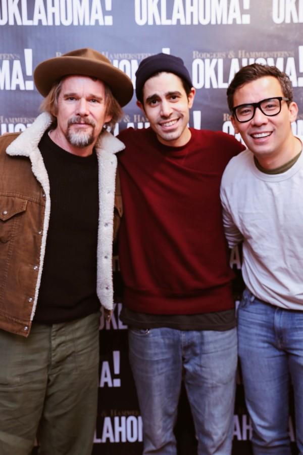 Ethan Hawke, Damon Daunno, Conrad Ricamora Photo