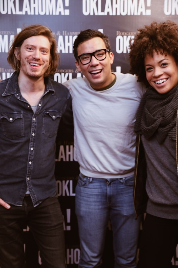 Patrick Vaill, Conrad Ricamora  Sasha Hutchings Photo