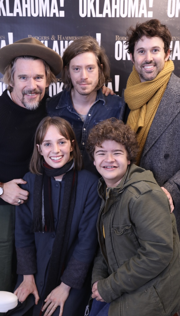 Ethan Hawke, Patrick Vaill, James Davis, Maya Hawk, Gaten Matarazzo Photo
