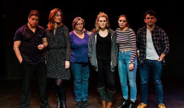 Photo Flash: In Rehearsal With The Chain Theatre's World Premiere CHASING THE RIVER