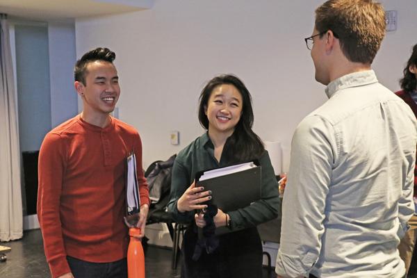 Kenny Tran, Cathy Ang, and Greg Matteson Photo