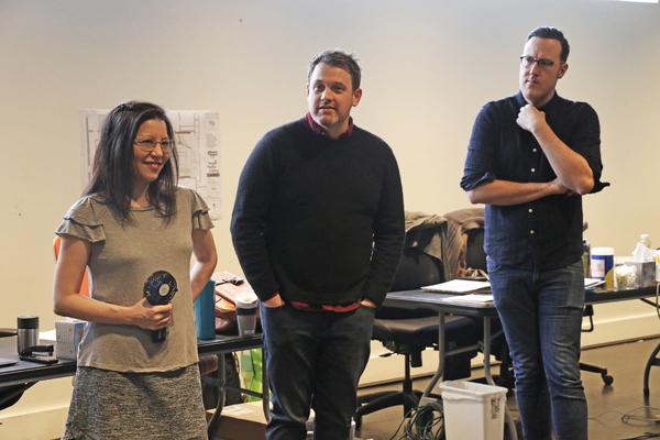 Deborah Abramson, Michael Arden, and Dane Laffrey Photo
