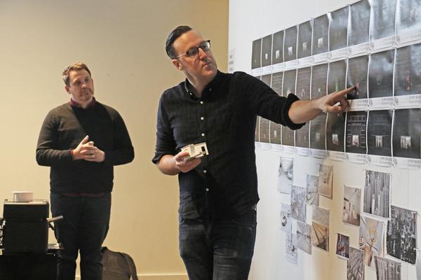 Michael Arden and Dane Laffrey Photo