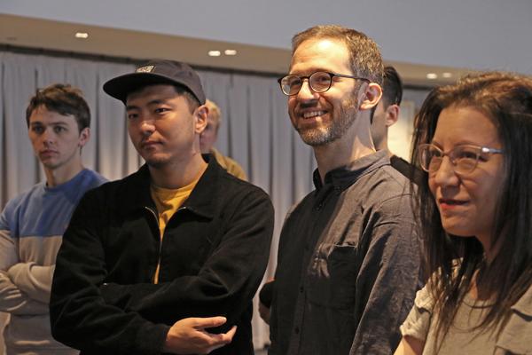Kevin Shelton, Hue Park, Will Aronson, Deborah Abramson Photo
