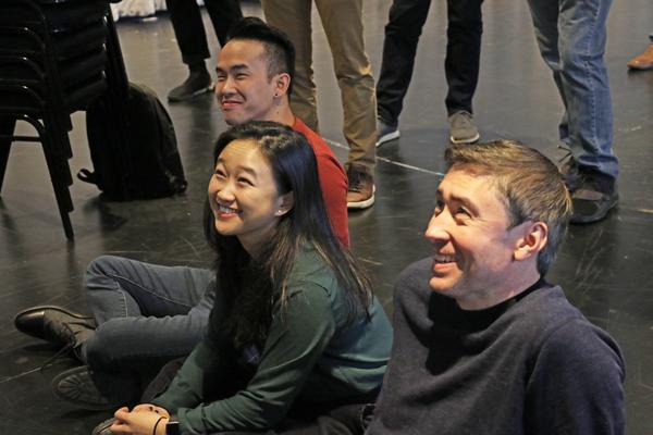 Kenny Tran, Cathy Ang, and John D. Haggerty Photo