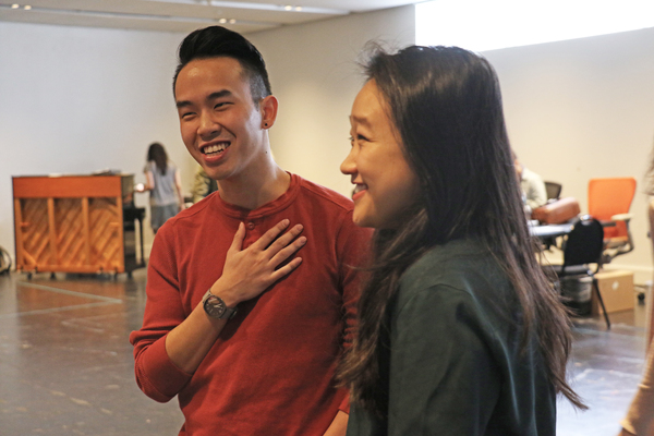 Kenny Tran and Cathy Ang Photo