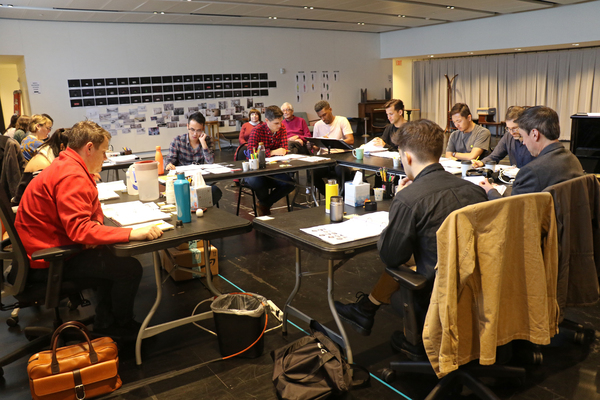Photo Flash: Michael Arden-Directed MAYBE HAPPY ENDING Begins Rehearsals