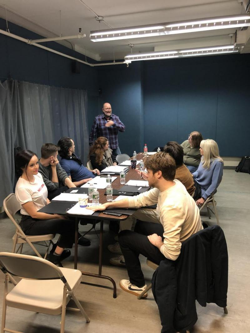 Photo Flash: ABNORMAL Begins Rehearsals At Theatre Row, NYC