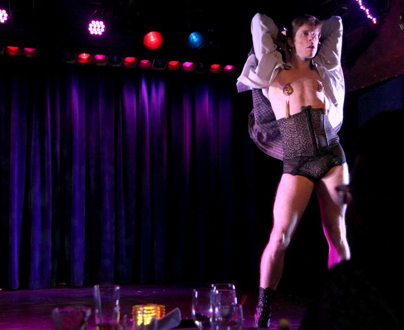 MEMBERS ONLY BOYLESQUE at The Laurie Beechman Theatre - Kicks Butt While Showing Butt, BUT That Ain't All...