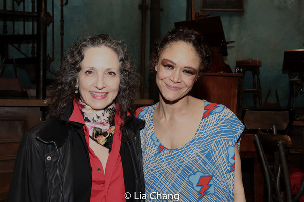 Photo Flash: Bebe Neuwirth, Arielle Jacobs, Dawnn Lewis, David Jennings and More Attend HADESTOWN Actors Fund Performance