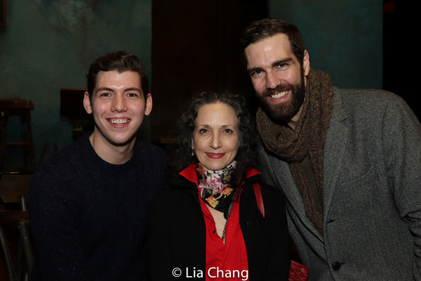 Dylan-Cole Passman, Bebe Neuwirth and Timothy Hughes Photo